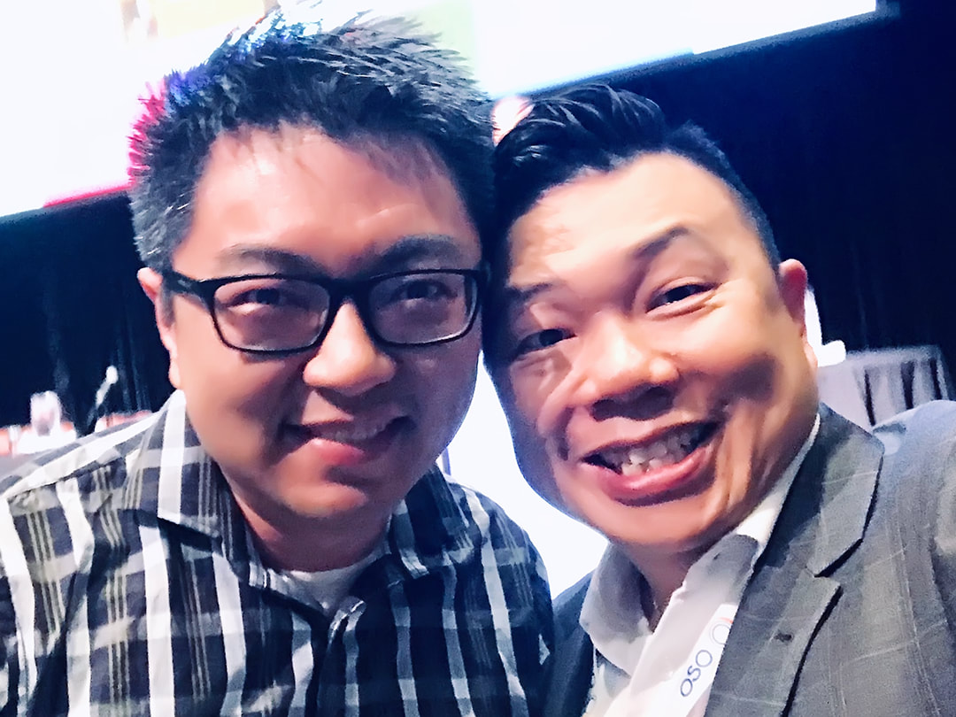 Philip Cheng (The Myopia Clinic, Melbourne) and Oliver Woo (Oliver Woo Optometrist, Sydney)